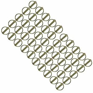 Actif 10mm Goupilles Clip Collier (pivot) Lien Entre L'axe De Verrouillage Situé à 50 Longue DuréE De Vie