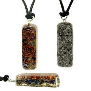 Orgone-Healing-Pendant-Adjustable-Cord-Sodalite-Necklace-EMF-Protection