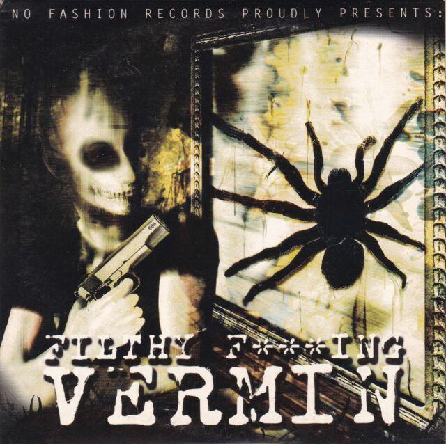 VERMIN Filthy F***ING -  VERMIN PROMO CD 2000 NO FASHION SCHWEDEN CARDSLEEVE