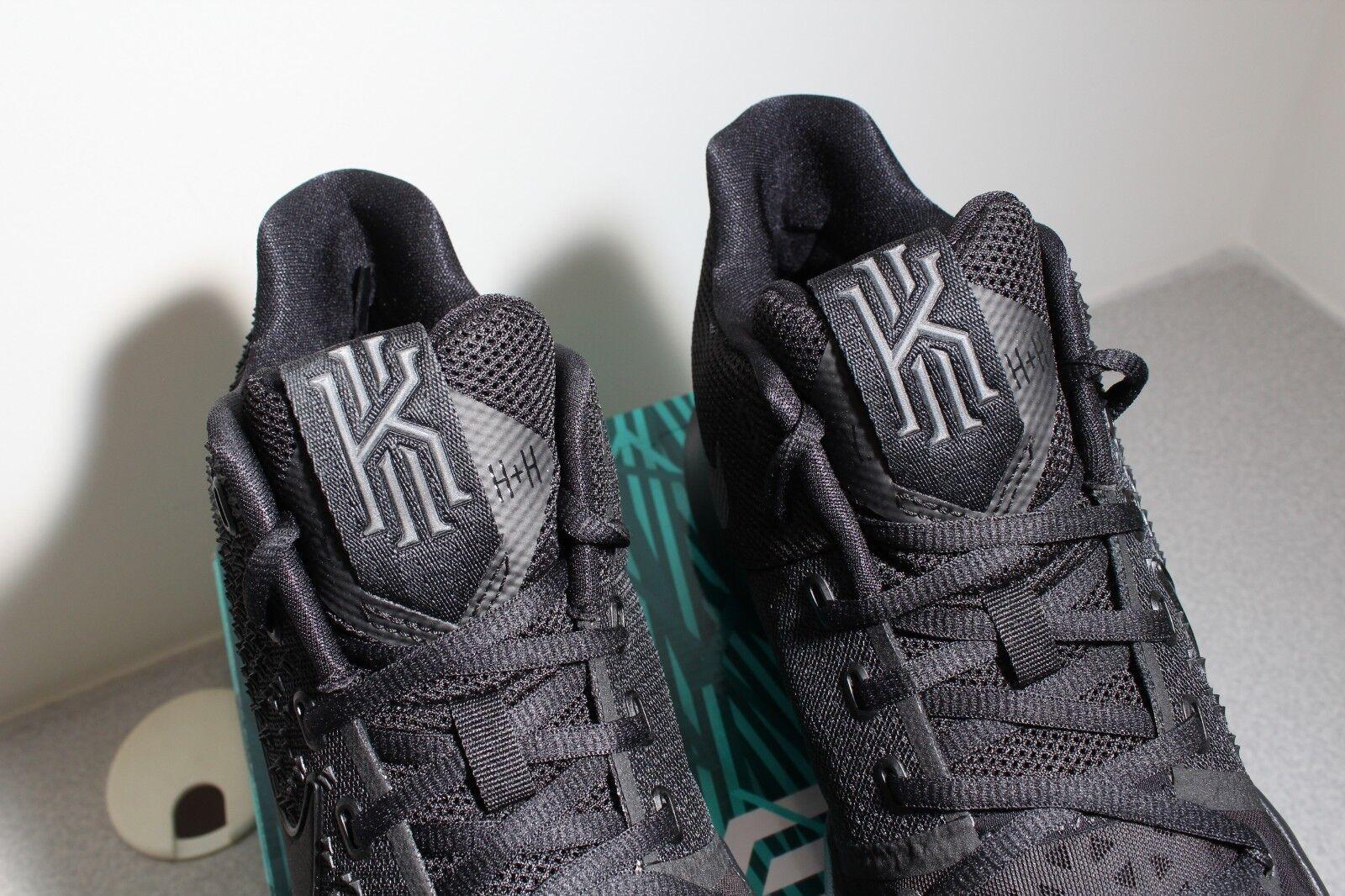 various colors f728d 075db ... Nike Kyrie 3 Marble 852395-005 Triple Black BHM BHM BHM White Oreo New  Irving ...