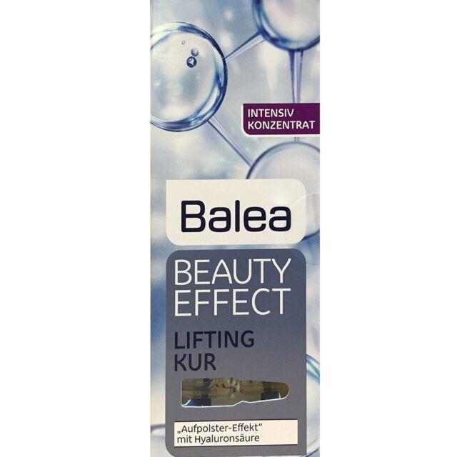 Balea Beauty Effect Lifting Treatment Serum Hyaluronic Acid  7x1ml  Ampoules