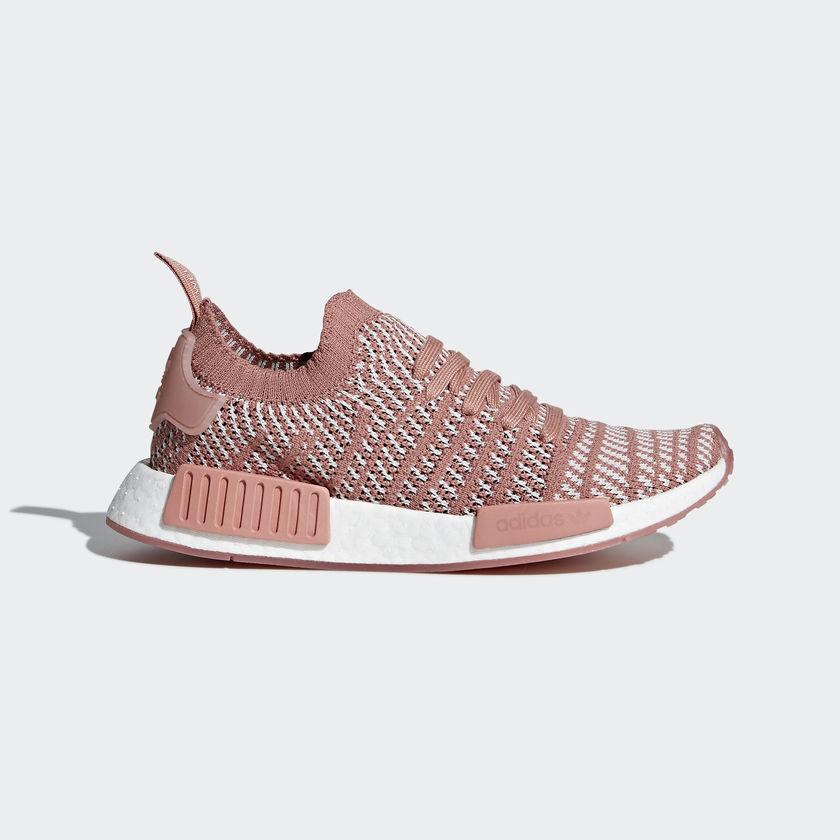 Las Adidas Originals nmd_r1 stlt primeknit top zapatos fashion zapatos top Peach - cq2028 87e05b