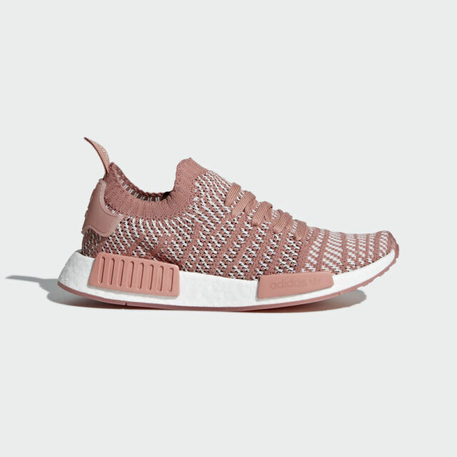 the latest 2799a 79c9f Adidas WOMEN ORIGINALS - NMDR1 STLT PRIMEKNIT - RUNNING SHOES - PEACH  CQ2028