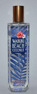 Details About New Bath Body Works Waikiki Beach Coconut Fine Fragrance Mist Spray Perfume 8 Oz