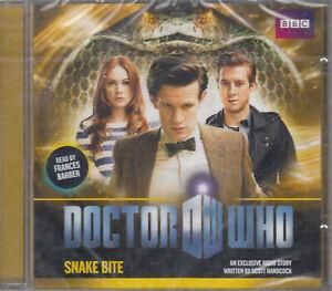 Doctor-Who-Snake-Bite-CD-Audio-Book-NEW-Scott-Handcock-Unabridged-FASTPOST