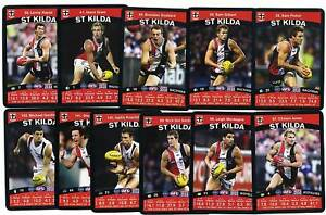 2010 TeamCoach ST. KILDA Team Set Captain & Check List