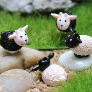 1X-Schafe-Maerchengarten-Miniaturen-Micro-Landschaft-Harz-HandwerkDekorzufaelligQY