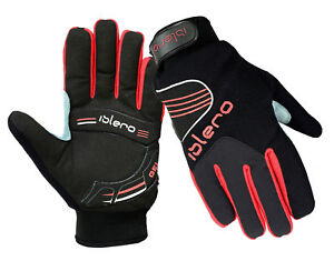 EVO-Winter-Cycling-Motorbike-Gel-Gloves-Breathable-weather-proof-full-Finger