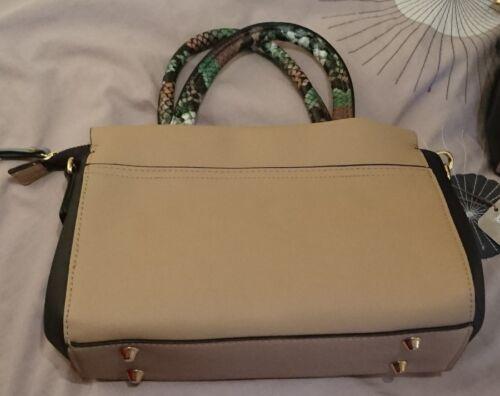 Bnwt Colourblock Navy Snakesk Accessorize Audrey Mini Avorio Monsoon Handheld Bag 8SZYEBnwq