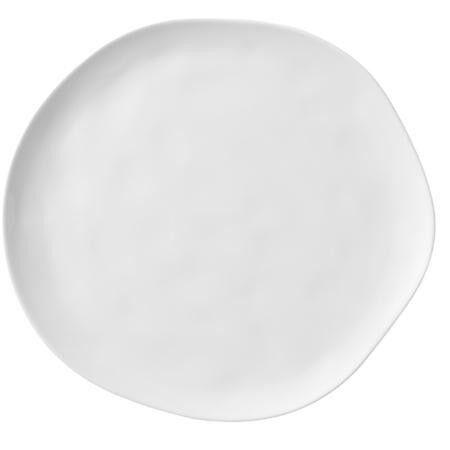 6er Set Servierplatte Servier Platte  Porzellan Oval Geschirr weiss ca.37x20,5cm