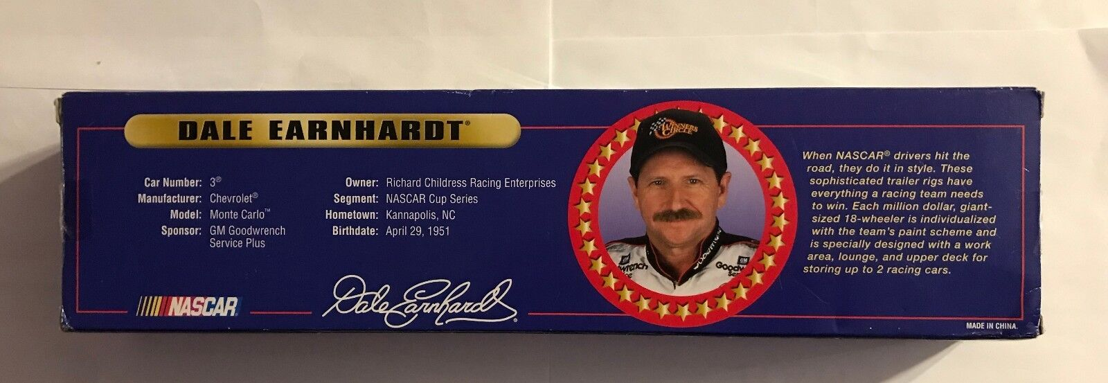 DALE EARNHARDT RCR RACING  COLLECTOR TRAILER TRAILER TRAILER RIG  2000 WINNER'S CIRCLE 1a34ff
