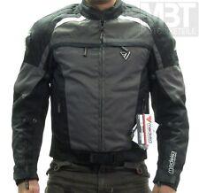 Modeka Motorradjacke AERO DYNAMIC Größe XL Textil Wasserabweisend Schwarz Grau