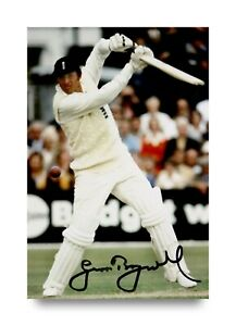 Sir-Geoffrey-Boycott-Signed-6x4-Photo-England-Cricket-Autograph-Memorabilia-COA