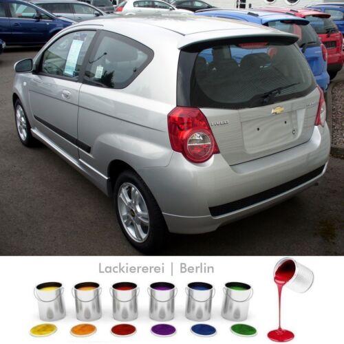 CHEVROLET AVEO posteriore acciaio per 2008-2011 paraurti posteriore verniciato in colore