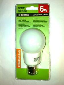 3-ampoules-basse-consommation-6w-B22-mini-globe