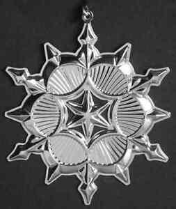 Gorham-Silver-ORNAMENT-2006-Sterling-SNOWFLAKE-5740718
