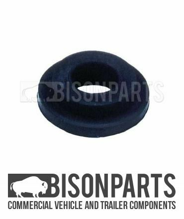 *TRAILER AIR LINE PALM COUPLING REPLACEMENT RUBBER SEAL - TOP HAT TYPE BP75-212