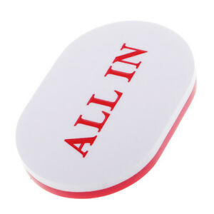 ALL-IN-Button-Acrylic-Oval-PokerStars-Dealer-for-Poker-Cards-White-and-Red