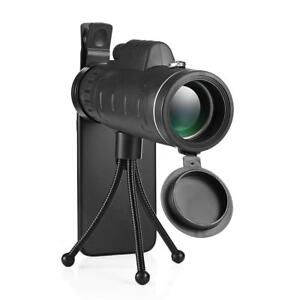 40X60-BAK4-HD-Monocular-Telescope-Outdoor-Hunting-Hiking-Scope-Phone-Clip-Tripod