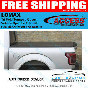 Access Lomax Tri Fold Cover For 16 19 Tacoma 5ft Short B1050019 Ebay