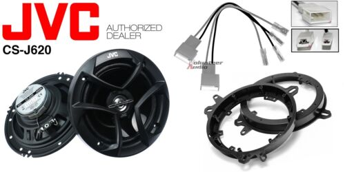 1 Pair Front Adapters JVC CS-J620 6.5 Speakers Harness