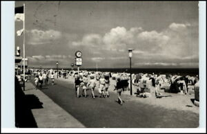 DAHME-Holstein-Ostsee-Ostseebad-AK-Promenande-Strand-alte-Postkarte