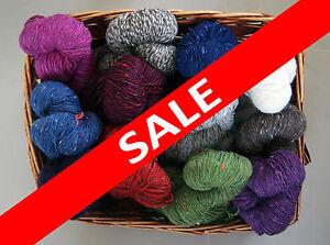 Aran-yarn-200-grams-Donegal-Aran-Tweed-Irish-yarn-100-wool-from-Ireland