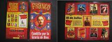 DIPTICO LOTERIA NACIONAL 1998. FRANCO, 18 DE JULIO, CARTELES GUERRA CIVIL