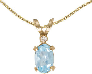 14k-Yellow-Gold-Oval-Aquamarine-And-Diamond-Filigree-Pendant-no-chain