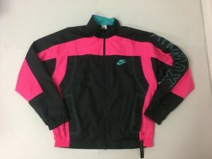 Admitir contar hasta molino  Nike x Atmos Vintage Patchwork Track Jacket Black Pink CD6132-011 Size  Small   eBay