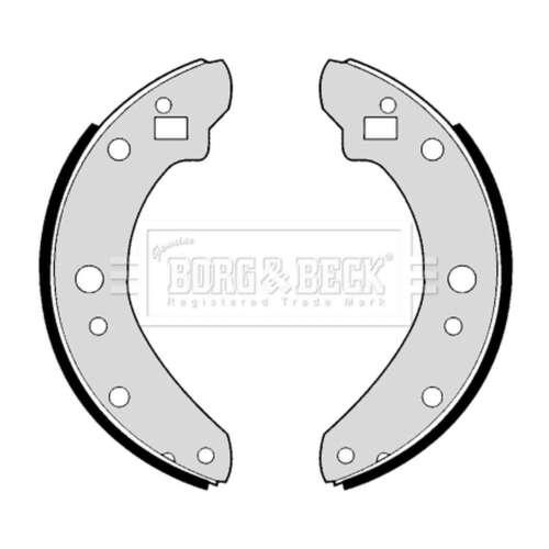 Genuine Borg /& Beck Scarpa FRENO Posteriore Set-BBS6174