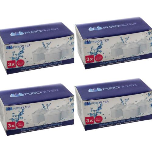 Cartucce Filtro Acqua 12 x Universale Filtri Per MAXTRA FILTRI BRITA MAXTRA /&