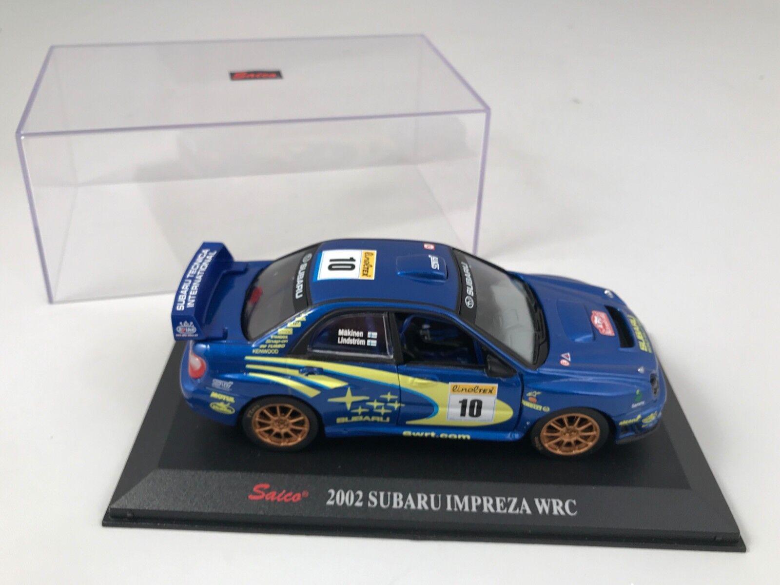 Saico 2002 Subaru Impreza WRC échelle 1 32 - moulé sous pression modélisme