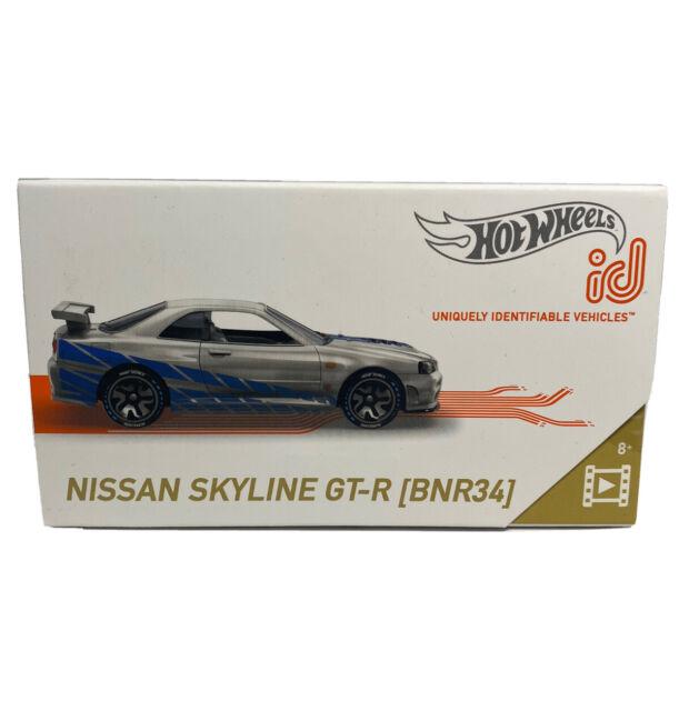 Hot Wheels 2021 ID Nissan Skyline GT-R (BNR34) Fast & Furious Series 2 New!