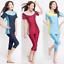Muslim-Islamic-Women-Modest-Swimwear-Tops-Clothes-Crop-Pants-Burkini-Swimsuit thumbnail 1