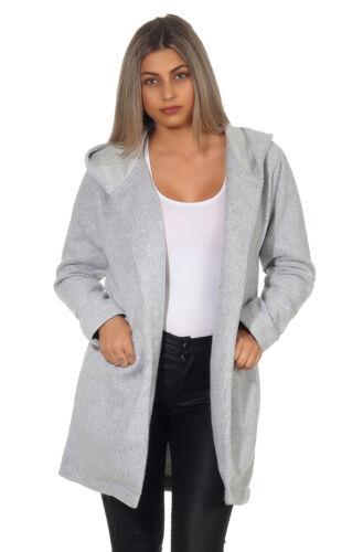 Sublevel Damen Mantel Kapuze Outwear Parka Jacken Winterjacke Übergangsjacke 12