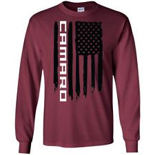 Chevy Red Cotton Blk.Gildan Motor Sports Auto SUV Long Sleeve T-Shirt,Truck
