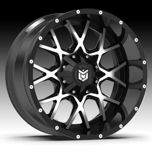 Dropstars 645MB Machined Black 20x12 5x5 5x5.5-44mm 645MB-2120944