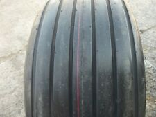 Two 125lx16 12 Ply Rib Implement Disc Do All Tractor Tires With Tubes