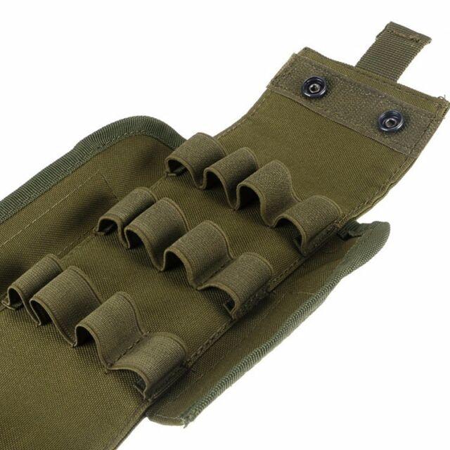 porte Cartouche fusil-porte-douilles-holster-Cartouchière-Airsoft-Chasse-Tactiqu