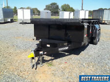 2021 Tuff Dump 7 X 14 Dump Trailer New Equipment Ramps 2 Ft Sides 14k Gvwr Twin