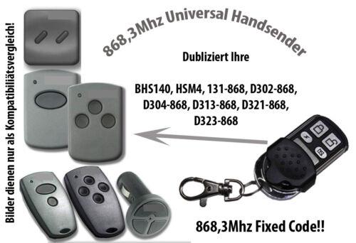 868 Mhz Handsender kompatibel zu FAAC TM2 DS 868 868DS-3 868DS-2 TM2868DS