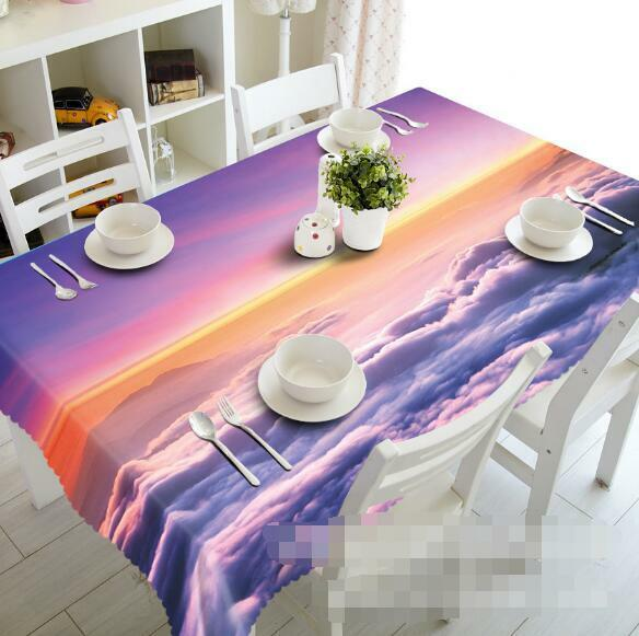 3D Sky cloud89 Tablecloth Table Cover Cloth Birthday Party Event AJ WALLPAPER UK