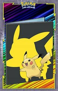 Album Classeur Pokemon Portfolio A4 Pokemon Rangement 180 Cartes V1 Neuf Ebay