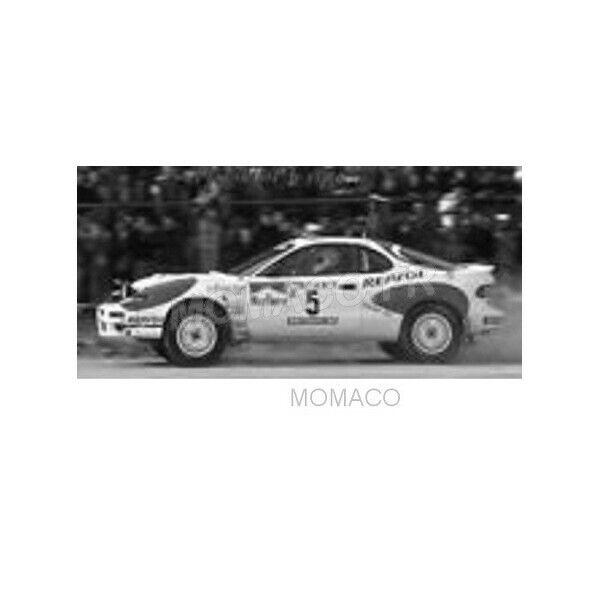 Ixo toyota celica gt-four st185 5 black hertz rally portugal 1992 1 18