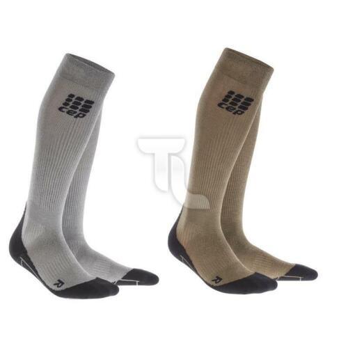 Kompression Metalized Socken silber gold Laufsocken NEU Cep Progressive