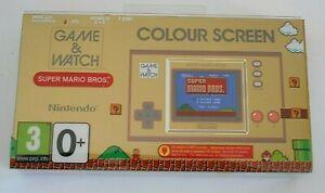 GAME-amp-WATCH-console-jeu-video-Nintendo-super-Mario-Bros-1-amp-2-Ball-retro-nes
