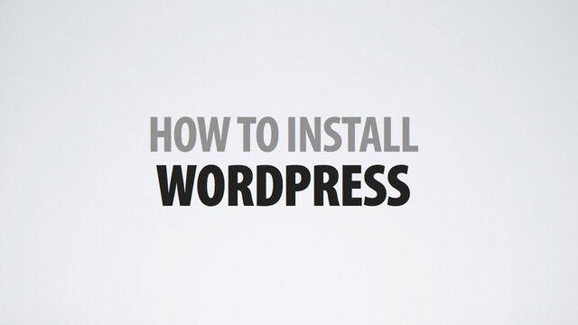 How To Setup Wordpress Video Tutorials on 1 CD 2