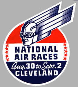 Sticker-NATIONAL-AIR-RACES-Cleveland