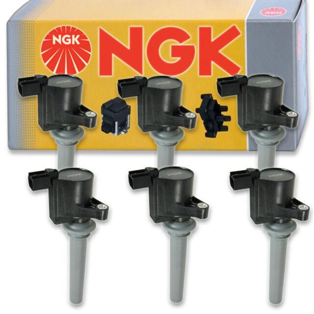 6 Pcs Ngk Ignition Coil For 2000